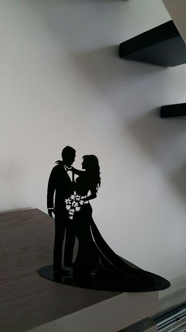 Figurines gâteau de mariage - 1