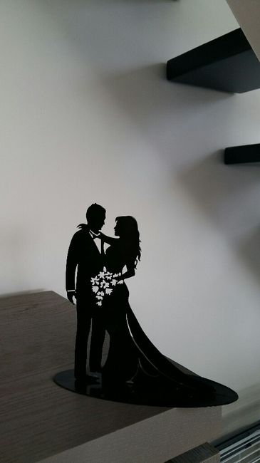 Figurine de mariés - 1