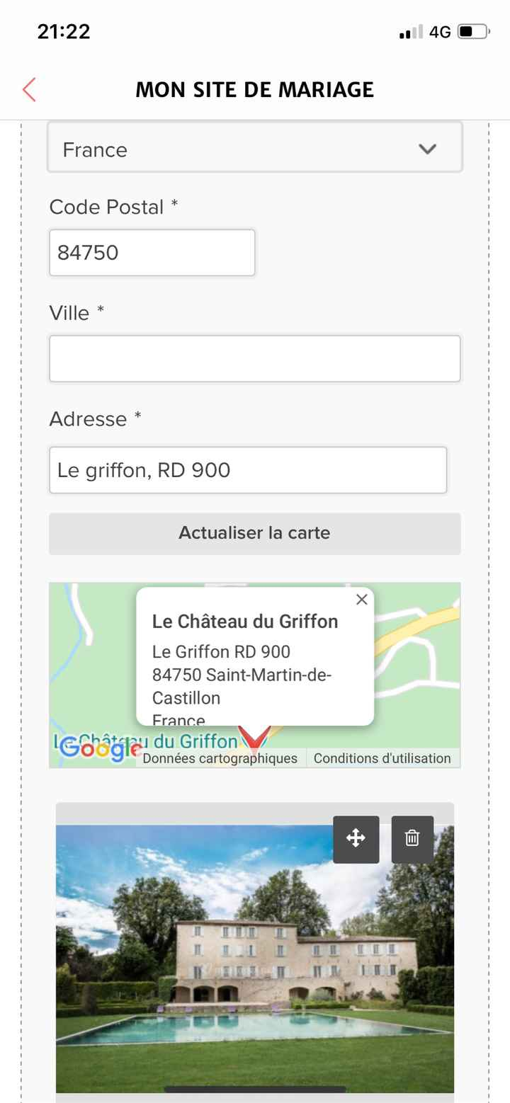 Site mariage - 1