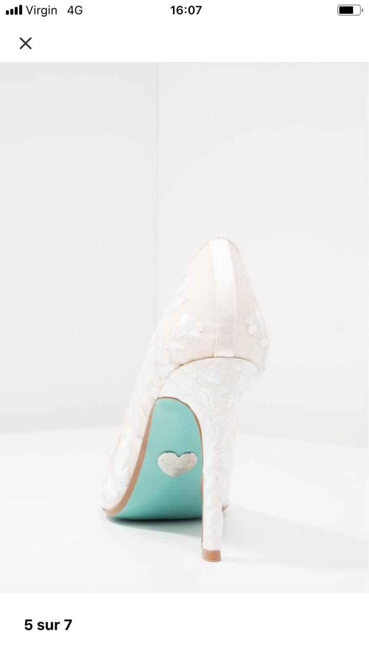 Mes chaussures mairie sont arrivées 😊😊 - 1