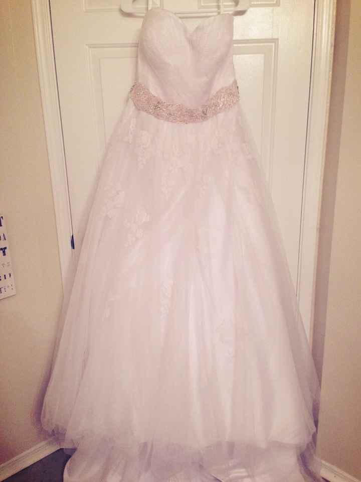 Une belle robe de mariée