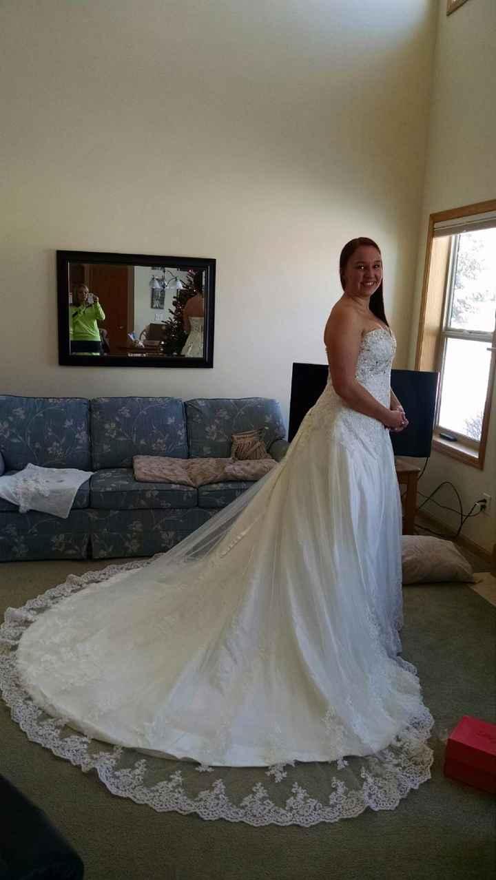 Une belle robe de mariée 2