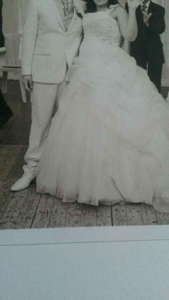Enceinte de 8 mois pour mon mariage civil - 1