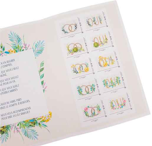 Timbres mariage - 1
