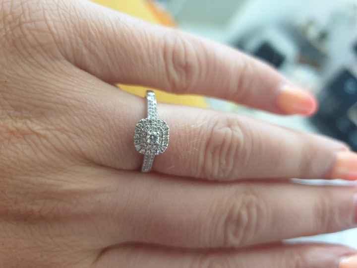 La bague de fiançailles, enfin à mon doigt ! - 1