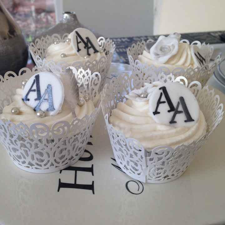 Pièce monté cupcake