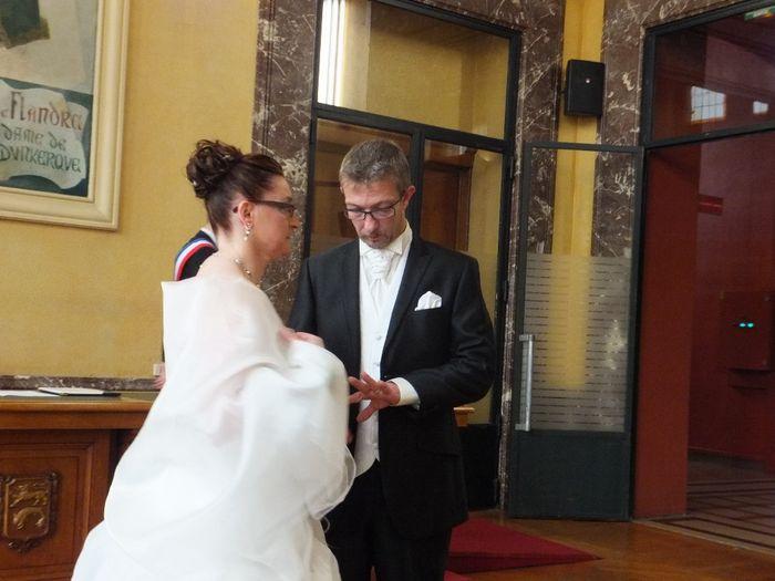 échange des alliances - Photo Cérémonie de mariage
