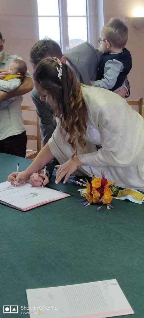 Ma journée de mariage civile du 24/10/2020 - 10