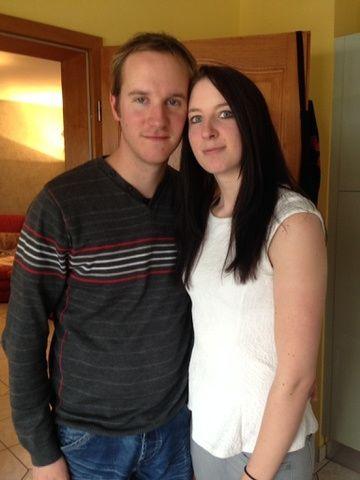Mon futur mari et moi :)