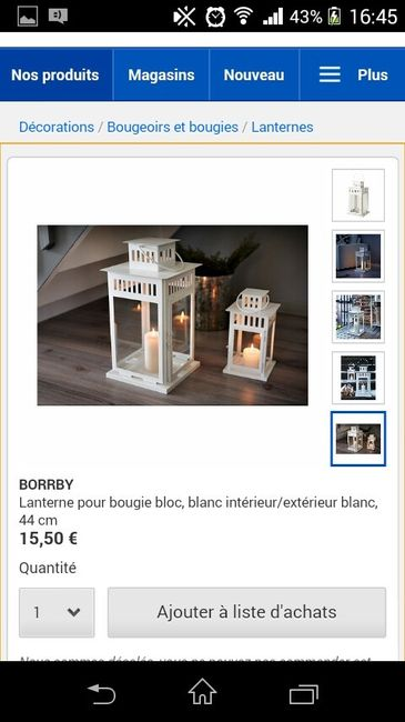 Lanternes bougie led d coration forum - Bougie led action ...