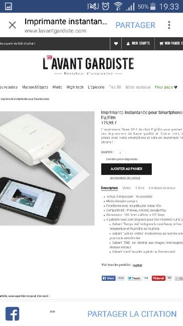 Polaroïd instax 8 -combien peut-on prendre de photos  ? - 7