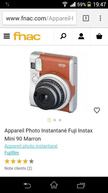 Polaroïd instax 8 -combien peut-on prendre de photos  ? - 10