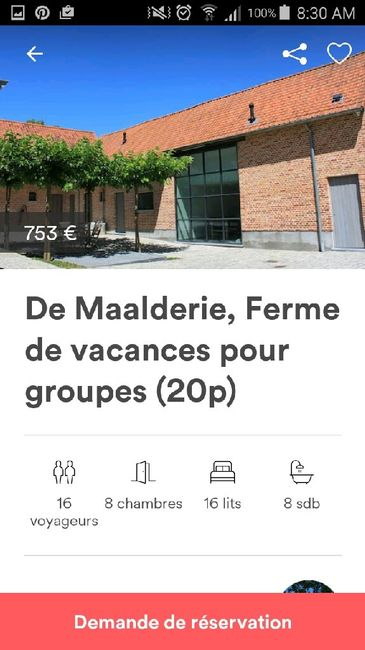 Recherche salle mariage nord ou belgique - 1