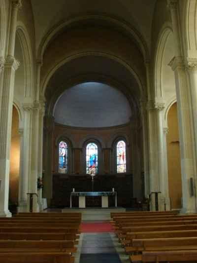 Eglise toujours... de l'intérieur