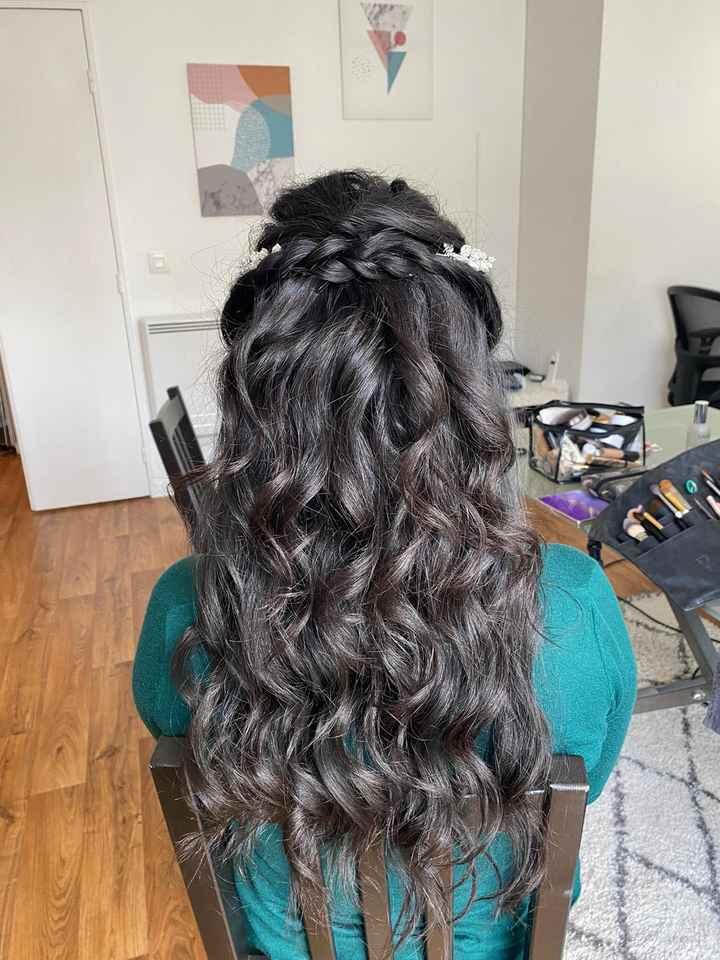 Essai coiffure mariage civil - 1