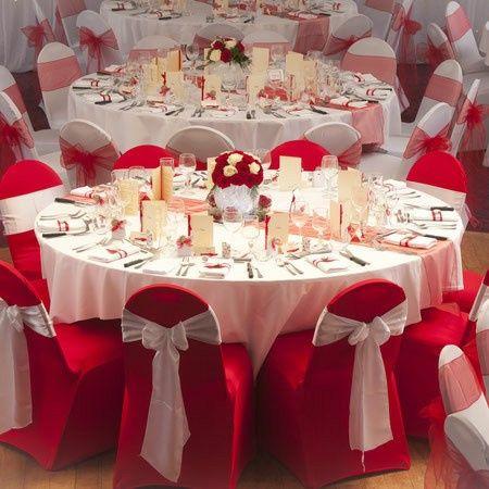 Mariage en rouge et blanc 1