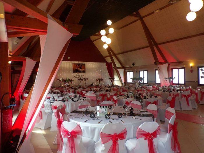 Mariage en rouge et blanc 2