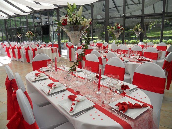 Mariage en rouge et blanc 3
