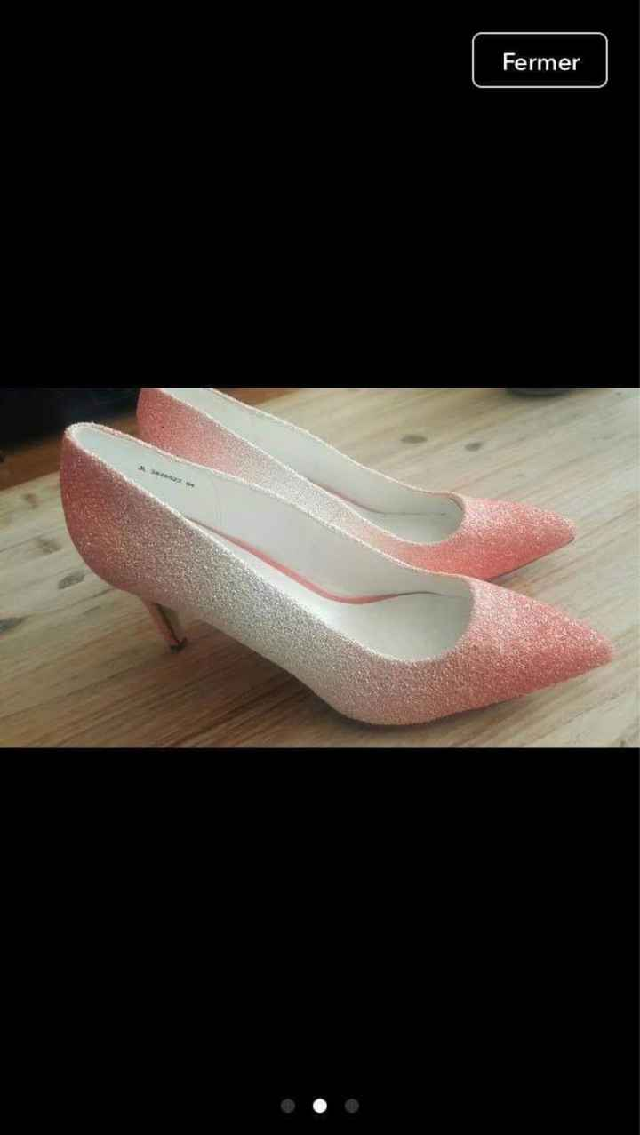 Ton mariage glamour : Les escarpins ❤️ - 1