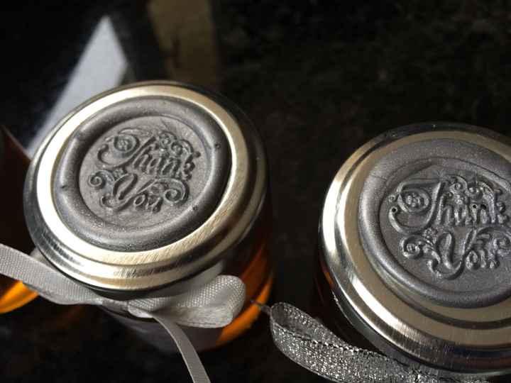 Diy pinata  et  miel pour invités - 1