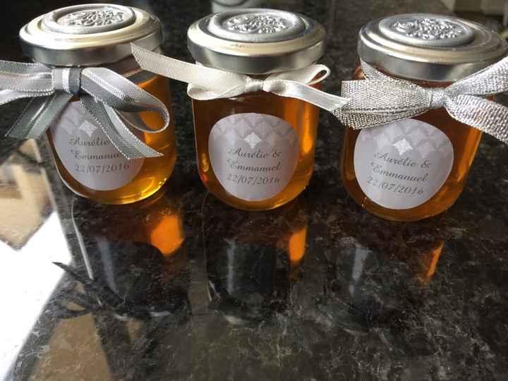 Diy pinata  et  miel pour invités - 2
