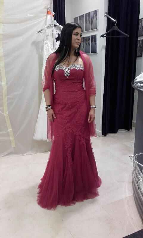 Changement de robe pour ouverture de bal ? - 1