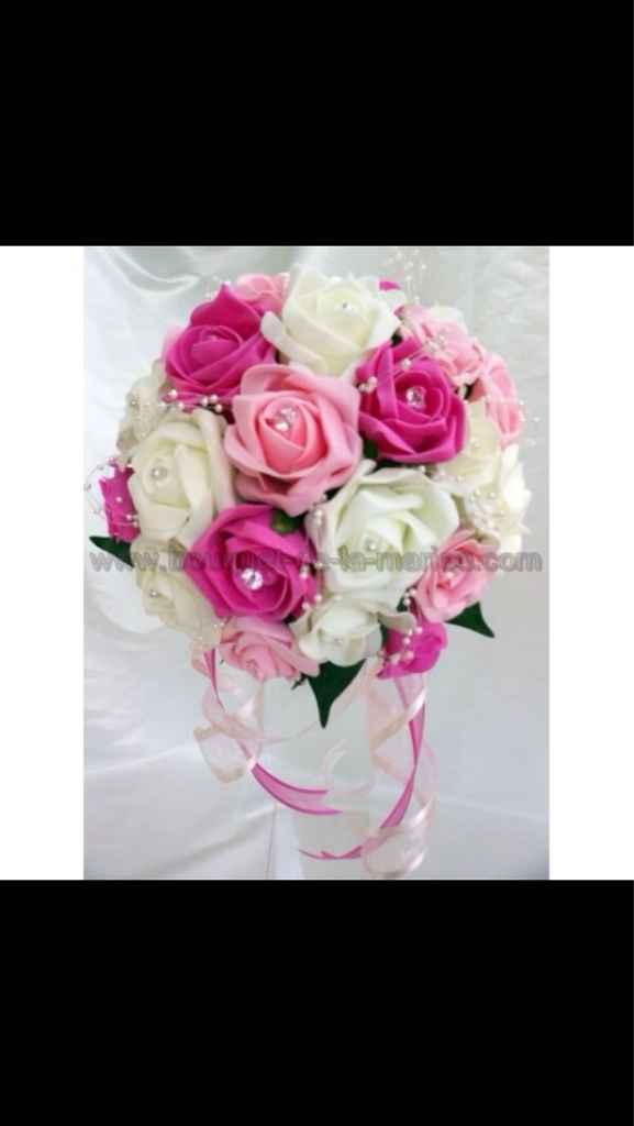 Votre bouquet de mariage et celui de vos demoiselles d'honneur - 1