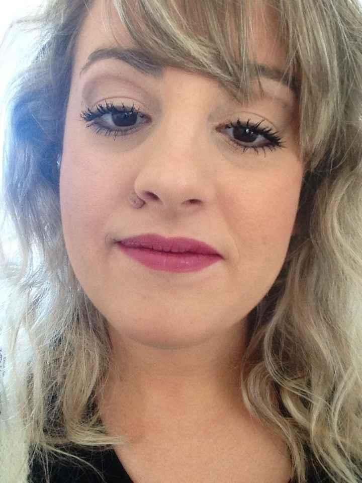 Essaie maquillage envie de pleuré - 1