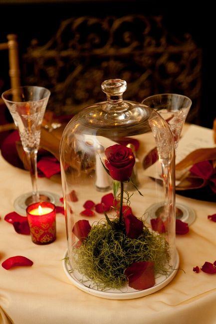 decoration mariage la belle et la bete