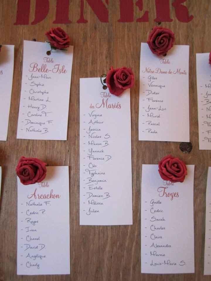Notre décoration de mariage - 2