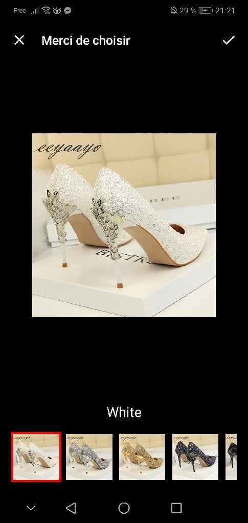 Choix chaussures 👡 - 2