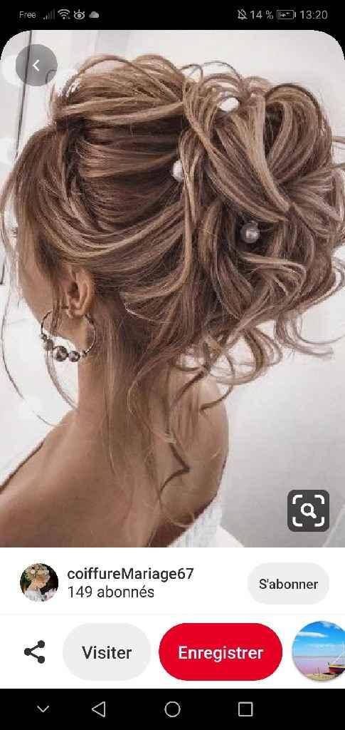 Quelle coiffure avec une robe dos nu ?? - 1