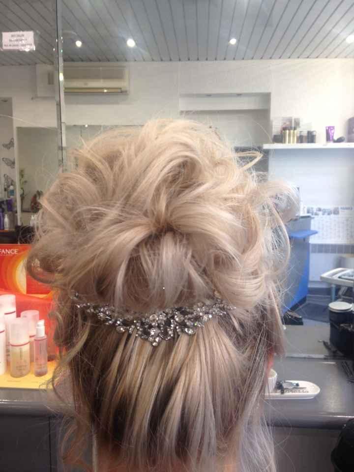 Essai coiffure 1 : validé ! - 2