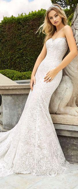 Quel emoji donnerais-tu pour cette robe sirène ?  👰 1