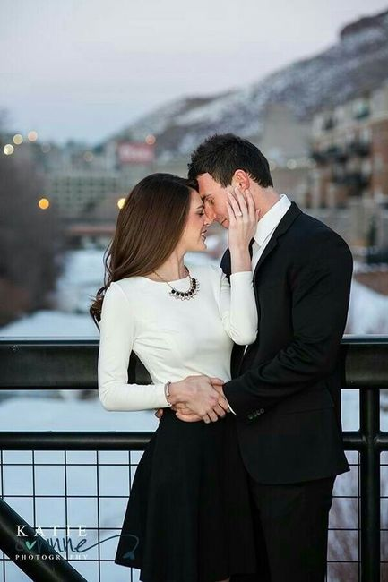 Le plus beau cliché d'engagement est... 3