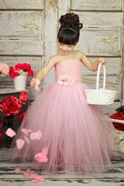 Si j'avais une baguette magique ... les petites filles d'honneur ✨ 2