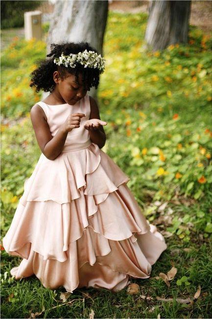 Si j'avais une baguette magique ... les petites filles d'honneur ✨ 3