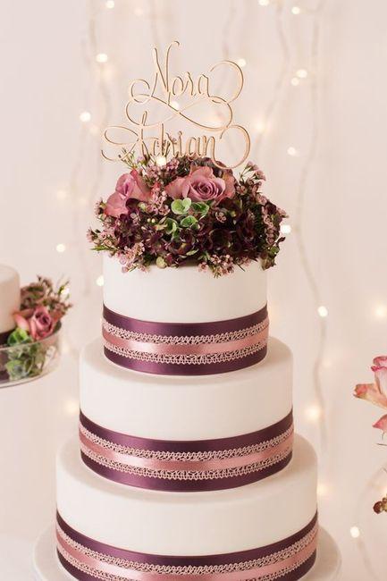 Si j'avais une baguette magique ... le wedding cake ✨ 2