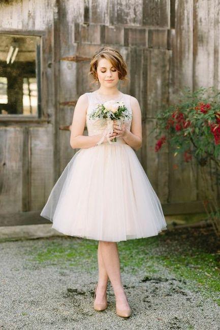 Je donne la note de... pour la robe du mariage civil 👰 1
