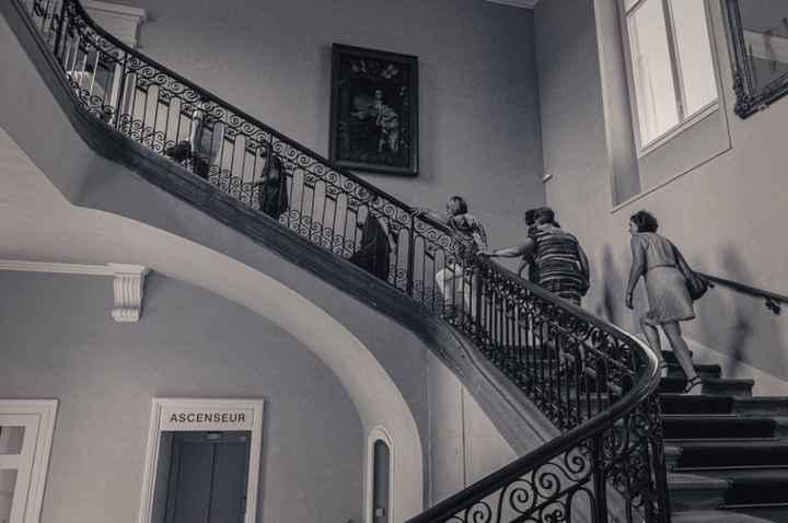 escalier mairie