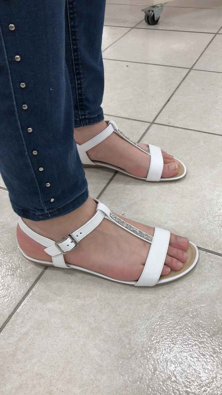 Quelles chaussures choisir avec une ribe ivoire ? - 1