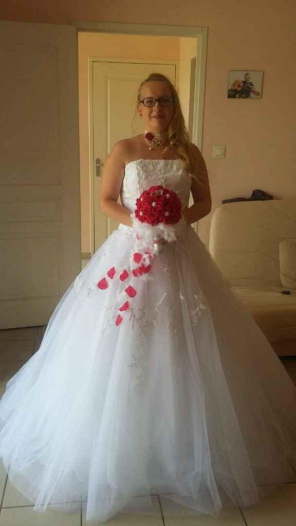 Qui a choisit de se marier avec un bouquet artificiel? - 3