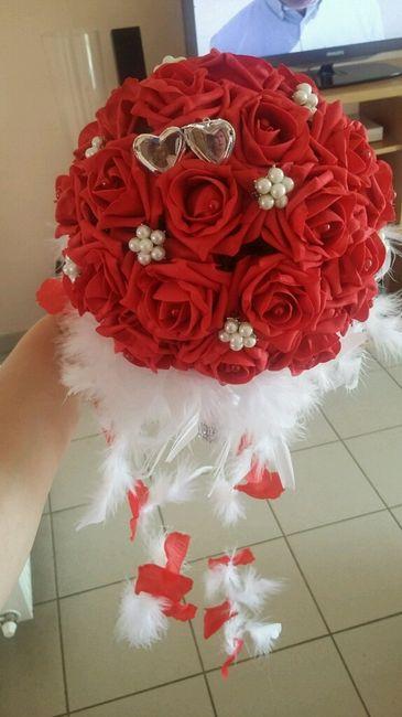 Qui a choisit de se marier avec un bouquet artificiel? - 1