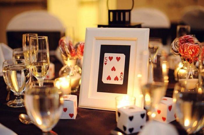 Theme mariage poker