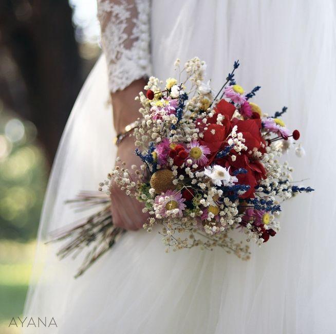 Bouquet  blanc ou bouquet coloré ? 19