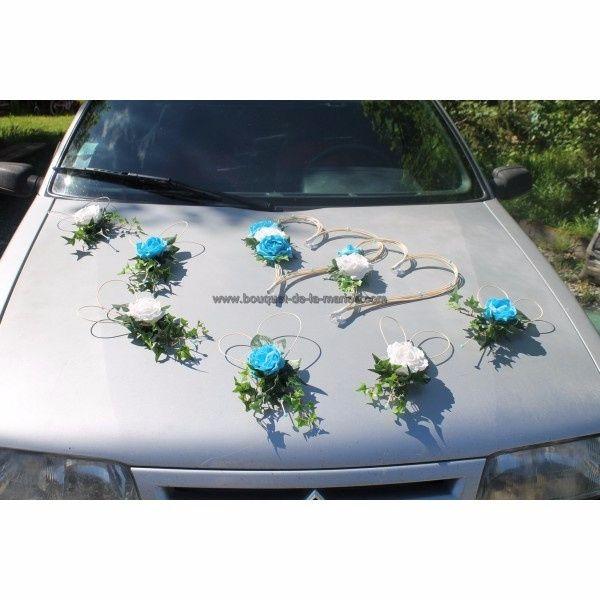 d coration voiture mariage composition florale ou kit original d coration forum. Black Bedroom Furniture Sets. Home Design Ideas