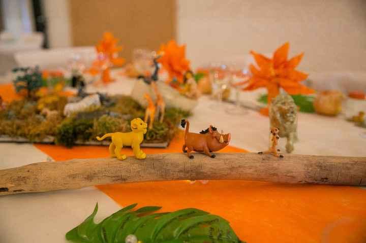 Help décor table roi lion - 3