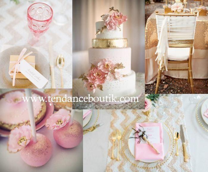 Code couleur - Rose - Saumon - Corail - Doré - 4