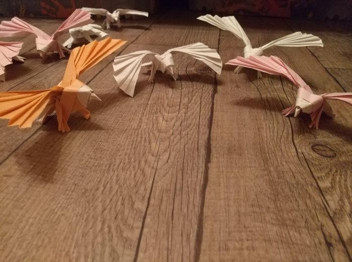 Nouvelle table en origami! - 2
