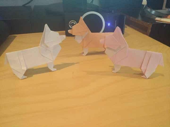 Les origamis de la table enfant ! - 2
